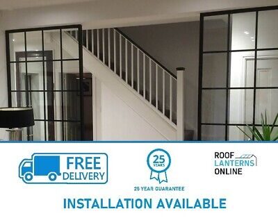 £0.99 • Buy Crittal Industrial Steel Partitioning Internal Windows WE INSTALL JUST ASK
