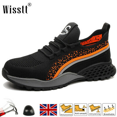 £21.99 • Buy Womens Steel Toe Cap Work Boots Hiking Trainers Safety Shoes Unisex Sneaker UK