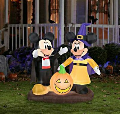 $ CDN124.97 • Buy Disney Halloween Decorations Mickey Minnie Mouse Inflatable Outdoor