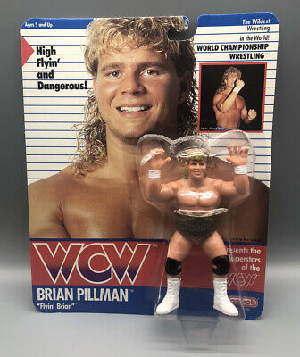 $ CDN624.89 • Buy Vintage WCW WWE 1990 Brian Pillman Galoob Series 1 New In Package Very Rare
