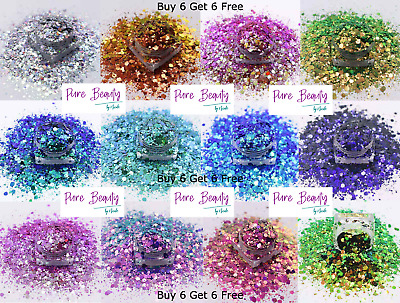£1.75 • Buy Chunky Festival Glitter Mix CHAMELEON Club Cosmetic 10g BUY 6 GET 6 FREE New