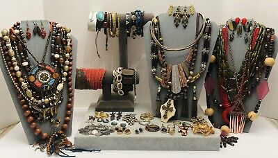 $ CDN80.34 • Buy Huge Vintage To Now Jewelry Lot - Estate Find - All Wearable Pieces - 4 Lbs +