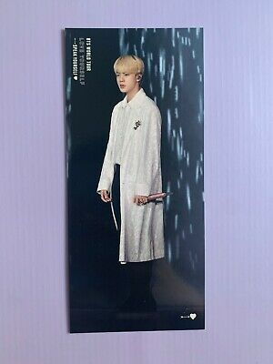 AU110 • Buy BTS Speak Yourself Sao Paulo DVD Official Jin Photo Bookmark (Bookmark Only)