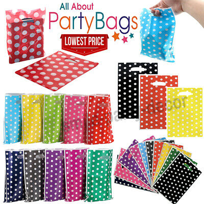 £2.98 • Buy Plastic Carrier Bags Coloured Strong Patch Handle Small Medium Large Extra Large