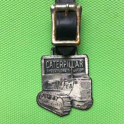 AU15.73 • Buy CATERPILLAR 'track Type Tractor' Bag Tag