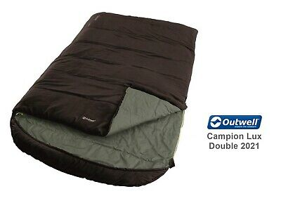 £47.49 • Buy Outwell Campion Lux Double Sleeping Bag-  Lightweight, Brushed Polyester Lining