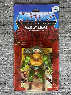 $8250 • Buy NEW Mattel 1981 Masters Of The Universe MOTU Man At Arms (8 Back) Figure MOC