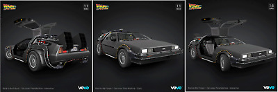 $999 • Buy FULL SET 3 X DeLorean. VEVE NFT  ULTRA RARE FA#00215  FIRST APPEARANCE SOLD OUT