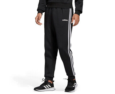 AU46.72 • Buy Adidas Men's Essentials 3-Stripes Tapered Cuffed Pants / Trackpants  AD63