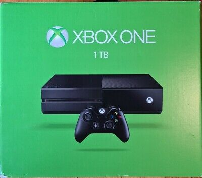 AU82 • Buy Xbox One 1TB Console With Games - Controller Has Button Issue