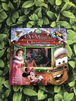 £9.50 • Buy A MAGICAL CHRISTMAS (MOVING PICTURES BOOK, A) By Disney Book Group - Hardcover