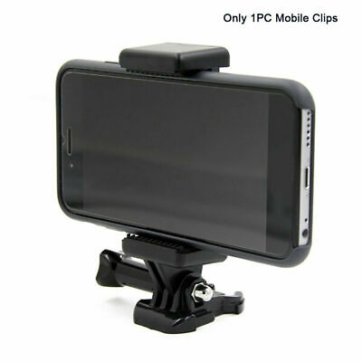 AU12.49 • Buy Cell Phone Clip Mount Adapter For GoPro Accessories Attachment Tripod Monopod
