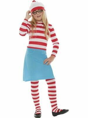 £15 • Buy Girls Small Where's Wally Wenda Costume - World Book Day - Fancy Dress Outfit