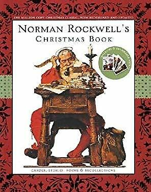 $ CDN7.18 • Buy Norman Rockwell's Christmas Book Hardcover Norman Rockwell