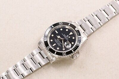 $ CDN14057.43 • Buy ROLEX Submariner Date 16610 First Production Tritium Dial R Serial 1988 Vintage