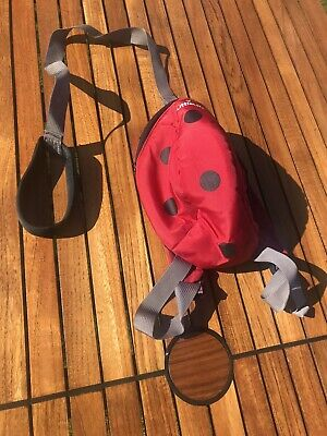 Little Life Toddler Ladybird Backpack With Hood And Rein • 0.99£