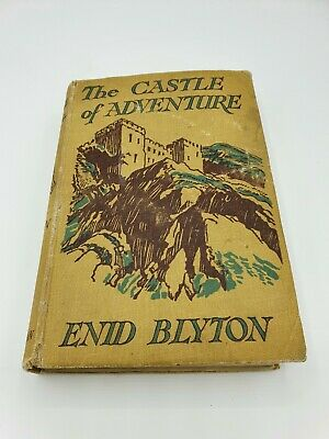 £25 • Buy Vintage First Edition The Castle Of Adventure By Enid Blyton 1946