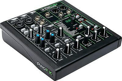 $149.99 • Buy Mackie PROFX6v3 6 Channel Professional Effect Mixer With USB GigFX Effects