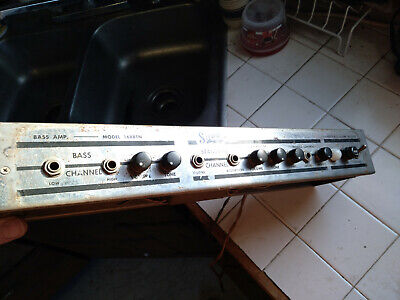 $ CDN337.67 • Buy Vintage 1960's Supro 1688TN Preamp Project FOR PARTS OR REPAIR