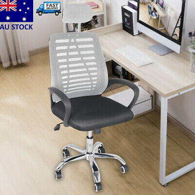 AU47.89 • Buy Ergonomic Executive Office Computer Chair Breathable Mesh Cushions Support Seat