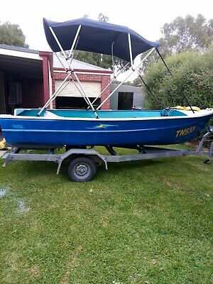 AU1950 • Buy 14ft Quintrex With 25hp Johnson