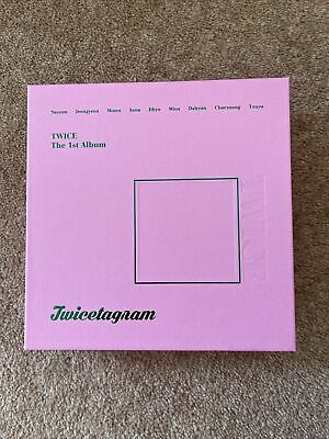 TWICE Twicetagram 1st Album Pink Version (No Photocard) • 12£
