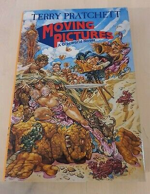 £100 • Buy Moving Pictures - 1st Signed - Terry Pratchett