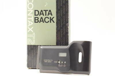 $ CDN243.27 • Buy [Beauty] Contax T2 Data Back CX-T2 Titanium Black For T2 Contax 247 @ 60