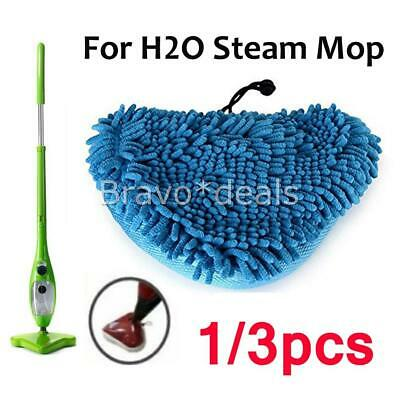 AU11.95 • Buy 1X-3X For H20 Steam Mop Pads Fits Bissell / Steamboy Cleaner CORAL BLUE AUS