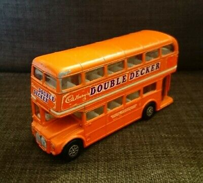 $ CDN8.62 • Buy Corgi Cadburys Double Decker London Transport Routemaster Bus 1979
