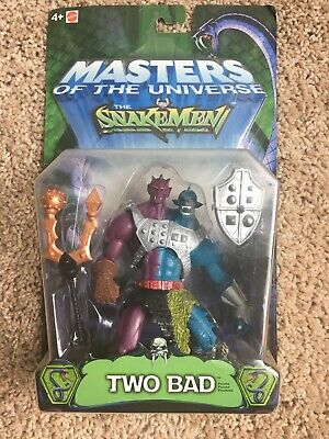 $17.50 • Buy 200x MOTU Masters Of The Universe Snakemen Two Bad 2003 Mattel NIP