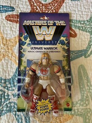 $25 • Buy Ultimate Warrior Wave 6 Masters Of The WWE Universe MOTU New Sealed