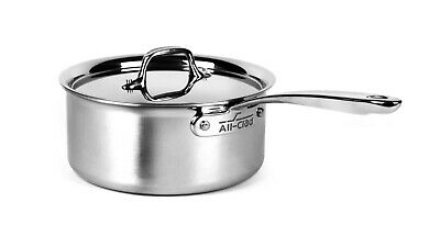 $ CDN124.97 • Buy All-Clad 4200 Stainless Steel  Compact Tri-Ply Bonded 3-qt Sauce Pan With Lid