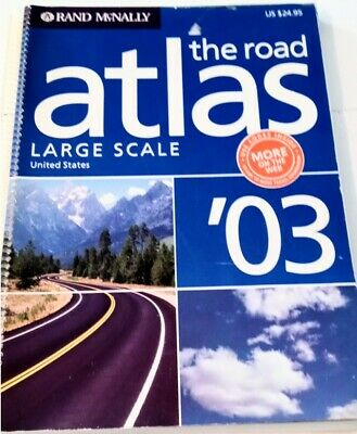 £8.47 • Buy Rand McNally 2003 The Road Atlas LARGE SCALE United States
