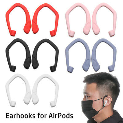 AU2.63 • Buy Hooks Protective Ear Hook Silicone Earphone Holders For Apple AirPods 1 2 Pro