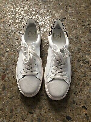 AU41 • Buy Dof Department Of Finery White Leather Sneakers - Size 42