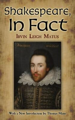 AU13.69 • Buy Shakespeare, In Fact (Dover Books On Literature & Drama)
