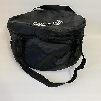 $ CDN31.27 • Buy Crock-Pot Thermal Insulated Carrier For 4 To 7 Quart Slow Cookers Black