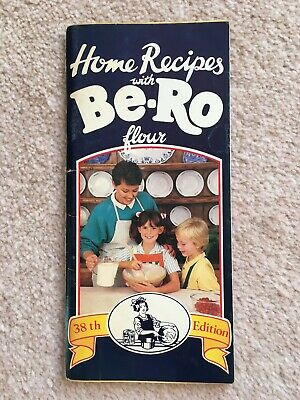 Vintage Home Recipe With Be-Ro Flour Book 38th Edition 1989 • 11.50£