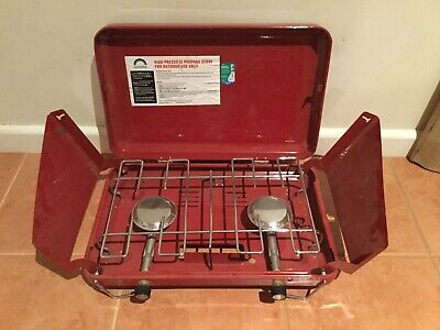 AU25 • Buy Spinifex 2 Burner Gas Camping Camp Portable Stove Cooker