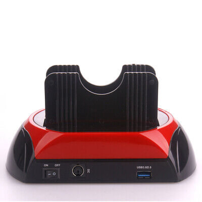 £24.78 • Buy USB3.0 All-in-1 Dual SATA HDD Docking Station Double Position Hard Disk Base
