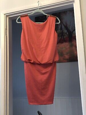 Coral Dress Size 12 New With Tag From River Island • 6£