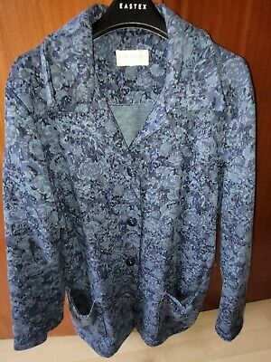 Cotswold Collections Blue Floral Jacket 2XL • 5£