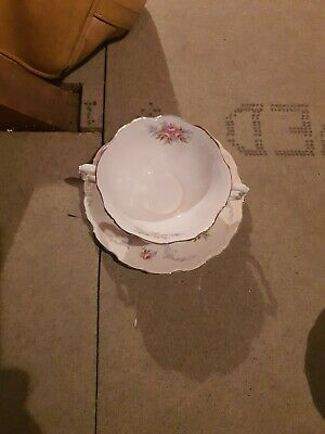 £14 • Buy Royal Albert - Tranquility - Soup Bowl With Under Saucer In Good Condition
