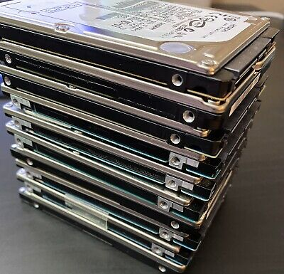 $ CDN93.64 • Buy LOT OF 10 250GB 2.5  Laptop SATA Replacement Hard Drives MIXED BRAND Working