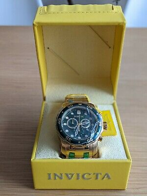 View Details Invicta Pro Diver 0075 Chronograph Watch With Box And Manual • 40.00£