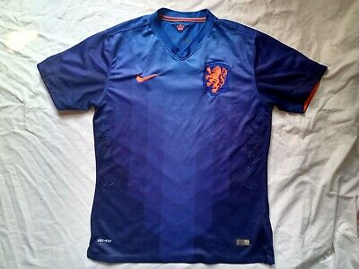 Shirt Netherlands 2014 2015 Nike Size L Away Football Jersey Trikot • 19.99£