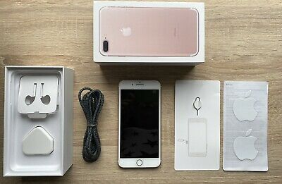 Apple IPhone 7 Plus - 32GB - Rose Gold (Unlocked) Excellent Condition • 124£