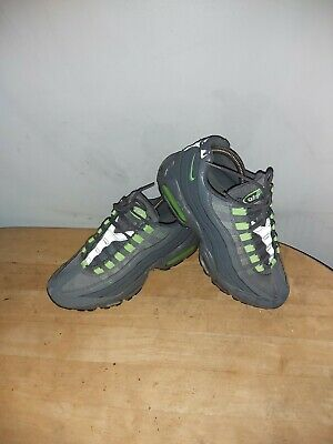 AU28.78 • Buy Nike Air Max 95 Olive Green With Neon Gre Details  Leather/ /textile Uk Size 7
