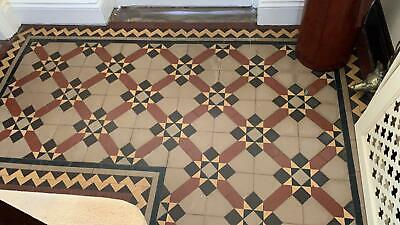 £5500 • Buy Early Edwardian Floor Tiles Approximately 13.5 Square Metres To Be Taken Up
